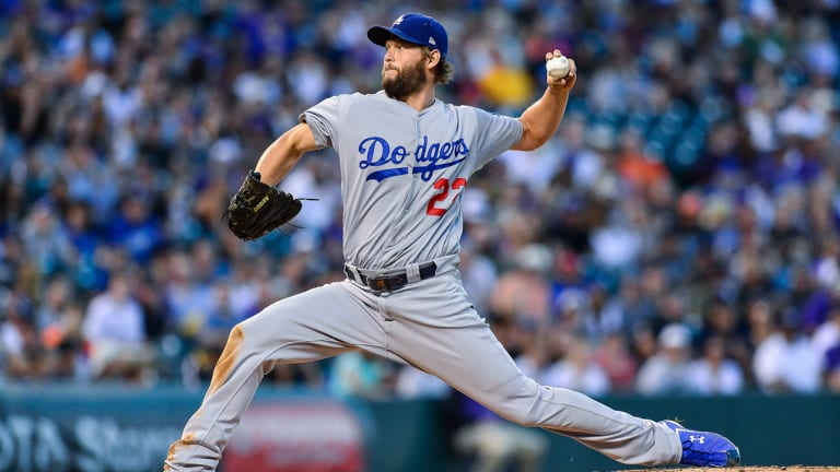 Dodgers, Kershaw Inch Closer to First Place Rockies
