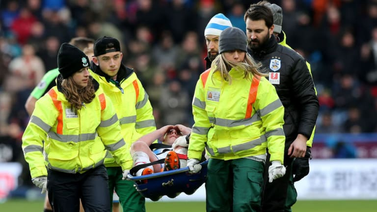 PHOTO: Aaron Mooy Posts Gruesome Update on Knee Injury Sustained in Bournemouth Win