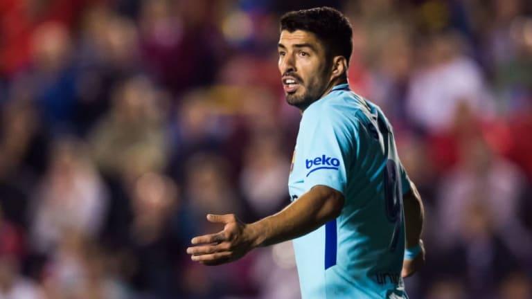 Luis Suarez Lifts Lid on Where Antoine Griezmann Would Fit Amongst Attack Heavy Barcelona