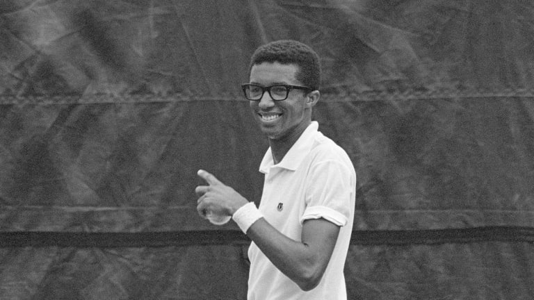 36 Hours With Arthur Ashe at the 1968 U.S. Open