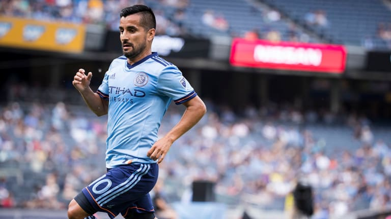 MLS: Maximiliano Moralez's Late Goal Gives NYCFC Win in New York Derby