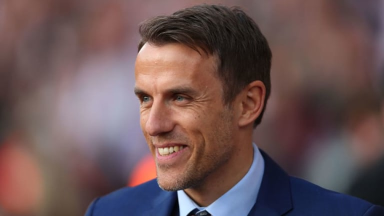 Phil Neville Brands Liverpool Target a 'Disgrace' After Brother Gary Calls Him 'Unprofessional'