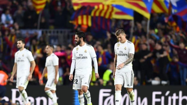 El 1x1 del Real Madrid en la derrota frente al FC Barcelona en el Clásico
