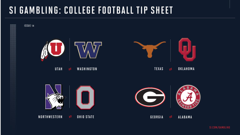 Weekly Tip Sheet: The Complete Printable Betting Guide to Week 14 of College Football