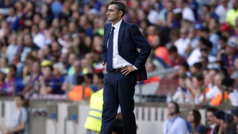 Ernesto Valverde Takes 'Absolute Blame' as Barcelona Labour to 1-1 Draw Against Athletic Bilbao