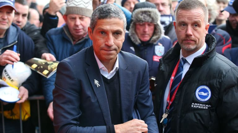 Chris Hughton Claims Seagulls' Lacking Creativity After Slumping to 'Disappointing' West Brom Defeat