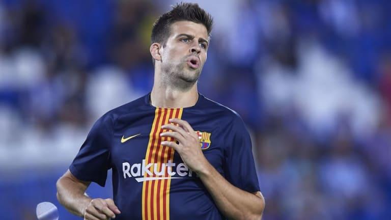 PASO ATRÁS   ¿El fin de la era Piqué en el Barcelona?
