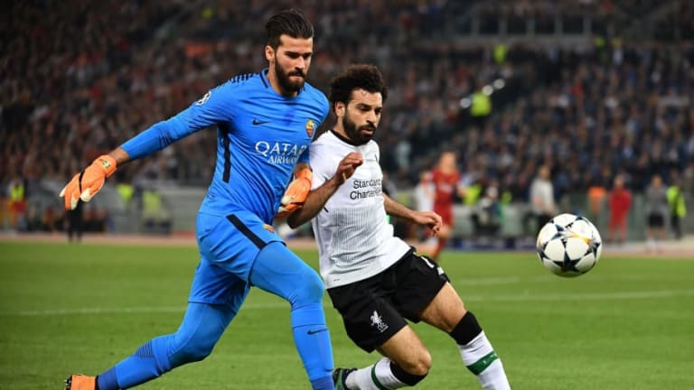 Alisson Reveals What Mo Salah Messaged Him Before Reunion With Ex-Roma Teammate at Liverpool
