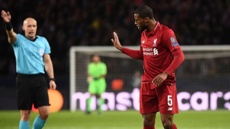 'Out of His Depth': Liverpool Fans Slam Georginio Wijnaldum After Dreadful Display in PSG Defeat