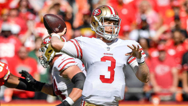Jimmy Garoppolo Is Out, and the Niners Have No Good Options