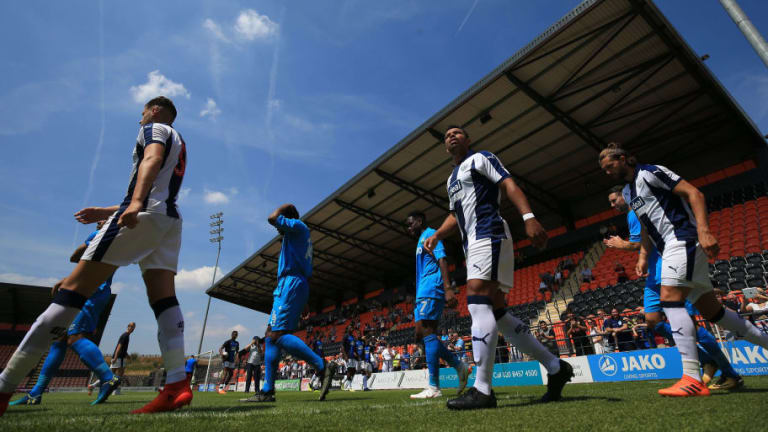 Former Man Utd Defender Training With West Brom & Featured in Pre-Season Friendly Win