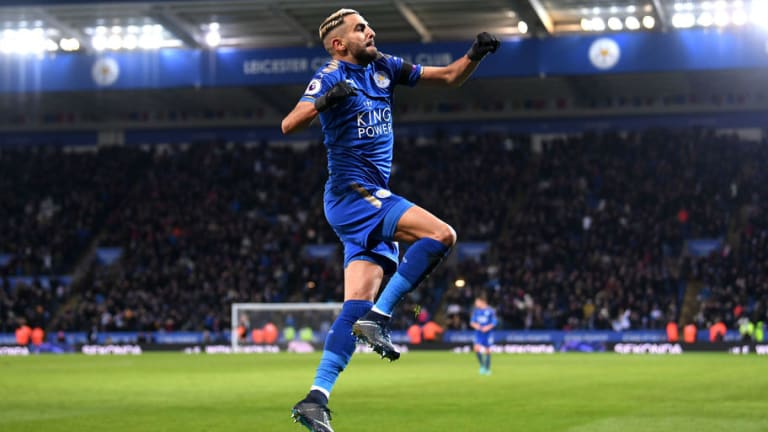 PFA Boss Warns Leicester Star Riyad Mahrez He'll Forfeit £100k Wage Packet if He Continues Protest
