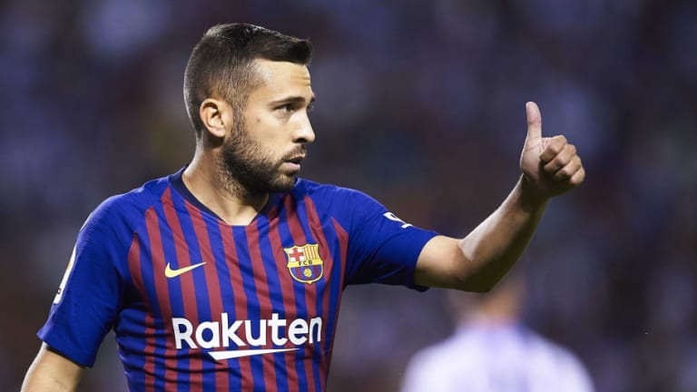 Jordi Alba Speaks Out After Answering Spain Snub With Brilliant Performance in 8-2 Barcelona Win
