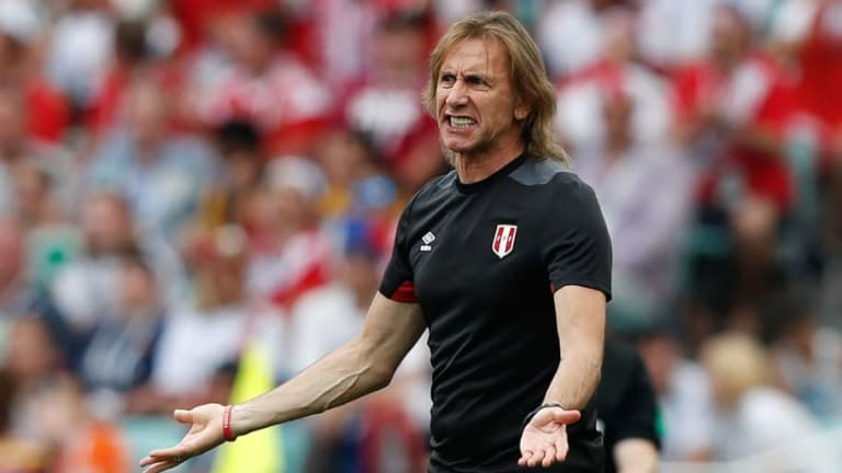 Ricardo Gareca Enjoys 'Joyful Feeling' After Peru Bow Out of the World Cup With a Win