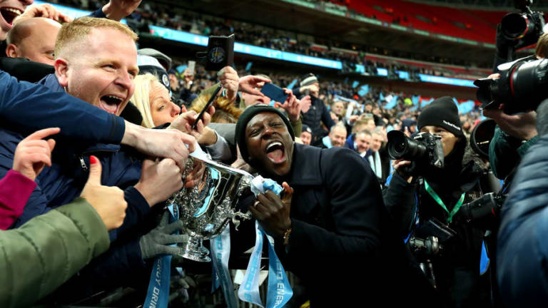 Story Behind Manchester City Defender Benjamin Mendy's Picture With Police Revealed