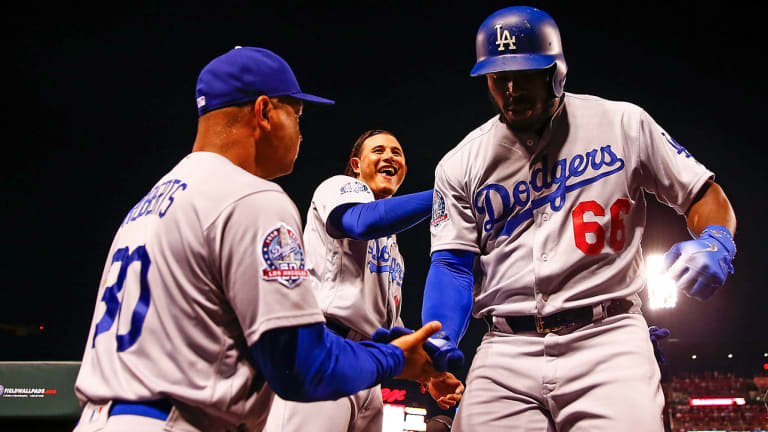 Buehler, Puig Pull Dodgers into Tie for Second NL Wild Card