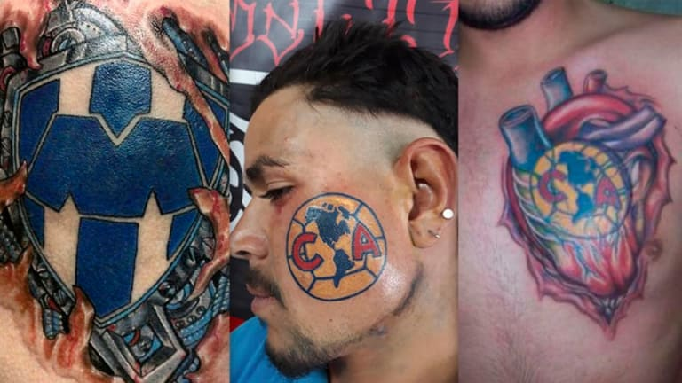 LOCURA   Los tatuajes más exóticos que se han hecho aficionados del fútbol mexicano