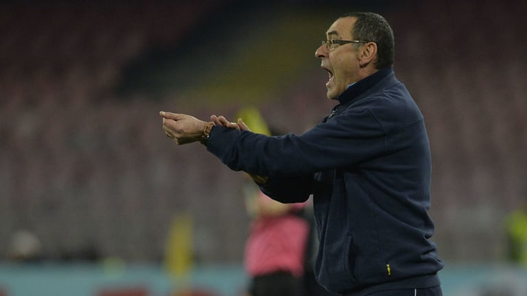 Maurizio Sarri Revels in Napoli's Second Half Display After Superb Comeback Restores Serie A Lead