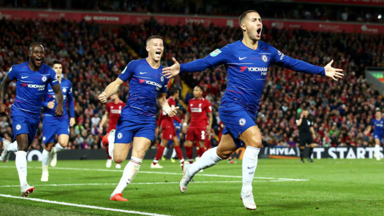 Eden Hazard Jokingly Reveals Kante Was Real Motivation for Solo Winner Against Liverpool