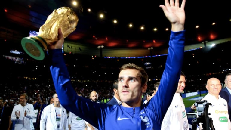 Antoine Griezmann Insists a 'Frenchman Must Win Ballon d'Or' This Year After World Cup Heroics