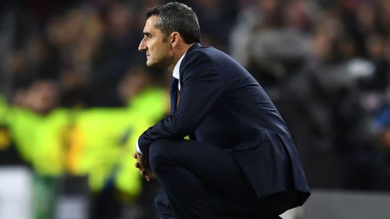 Ernesto Valverde Hails 'Decisive' Lionel Messi After Barcelona Salvage 2-2 Sevilla Draw