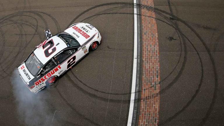 Brad Keselowski's Winning Streak Pumps Life Into NASCAR playoffs