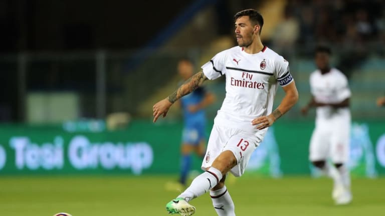 Maurizio Sarri Keen on Signing Alessio Romagnoli as Chelsea Look to Bolster Defensive Options