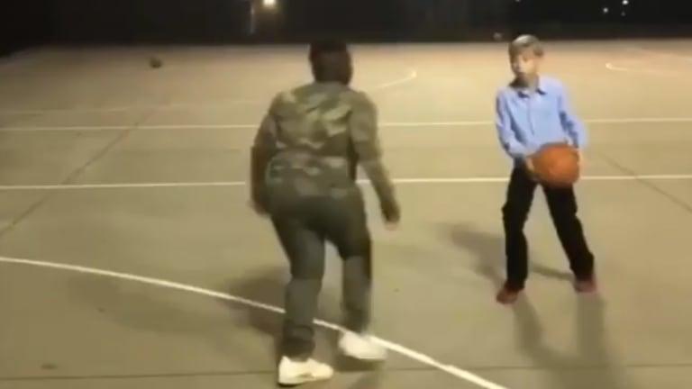 Watch: Walmart Yodeling Kid is a Baller