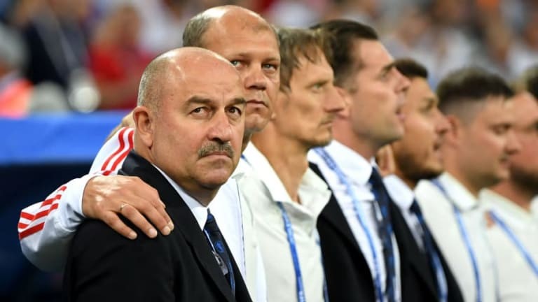 Russia Coach Stanislav Cherchesov Proud of Achievement as Hosts Bow Out of World Cup