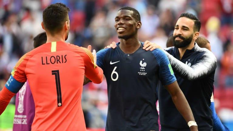 Hugo Lloris Hails Paul Pogba as a 'True Leader' Ahead of France's World Cup Clash With Uruguay