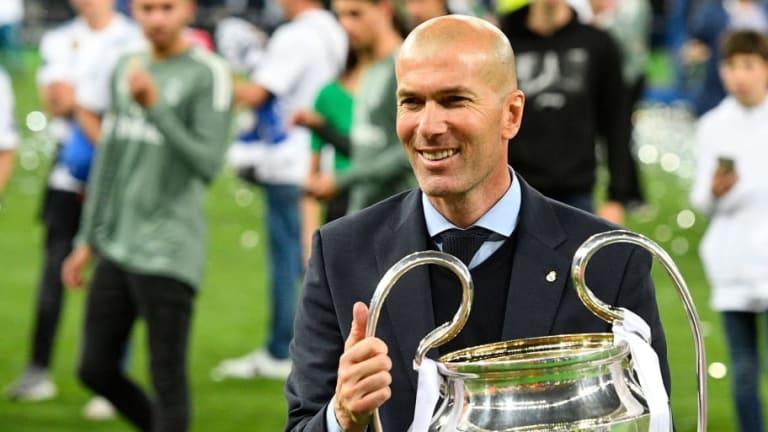 Los increíbles números de Zidane en el banquillo del Real Madrid