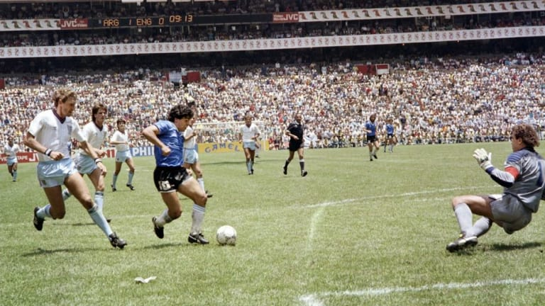 World Cup Countdown: 8 Weeks To Go - When the World Witnessed Diego Maradona's 'Goal of the Century'