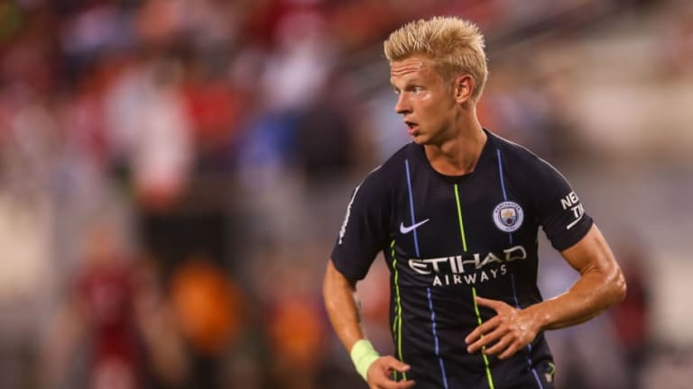 Man City Starlet Oleksandr Zinchenko 'Dreams' of Staying at the Etihad Amid £16m Offer From Wolves