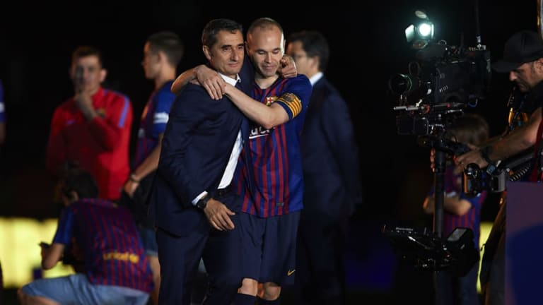 Barcelona Manager Claims Losing Andres Iniesta 'Is as Important' as Cristiano Ronaldo's Exit