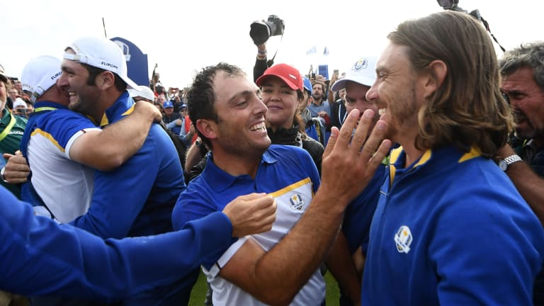 U.S. Can't Pull Off Comeback, Europe Wins Ryder Cup in Dominant Fashion