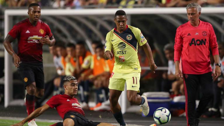 MARCADOR FINAL | Las Águilas dieron juegazo ante el Manchester United