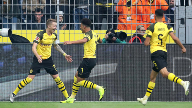 Dortmund 2-2 Hertha: Report, Ratings & Reaction as Kalou's Late Penalty Denies Sancho-Inspired BVB