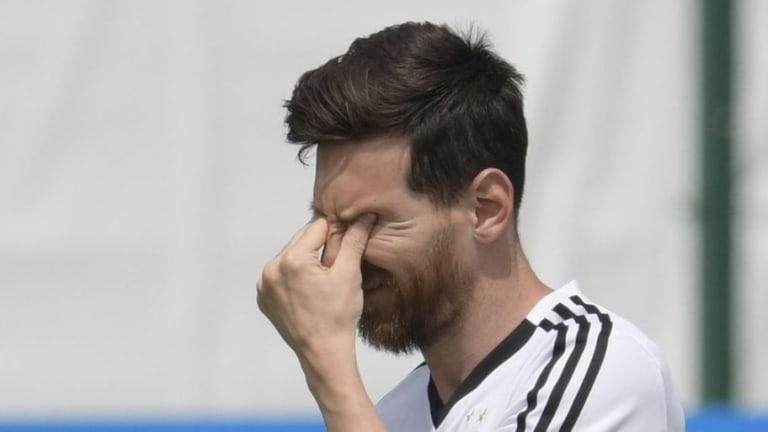 INSÓLITO | Un jugador croata rechazó la camiseta de Lionel Messi tras el partido