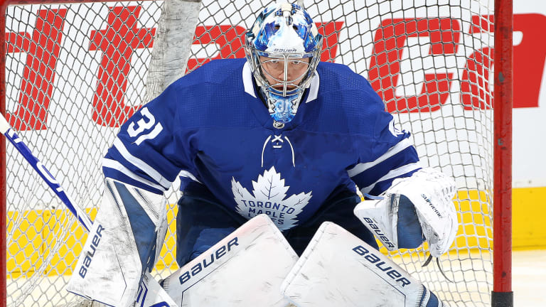 Maple Leafs Goalie Frederik Andersen 'Day to Day' With Groin Injury