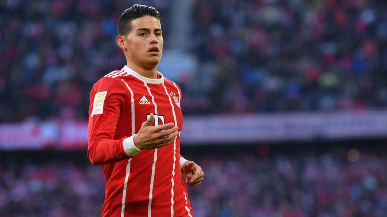 MERCADO | El jugador que podría entrar en el fichaje permanente de James por el Bayern