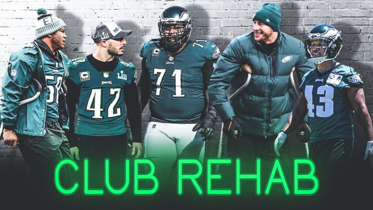 Club Rehab: How Five Eagles Players Leaned on Each Other Through the Arduous Recovery Process