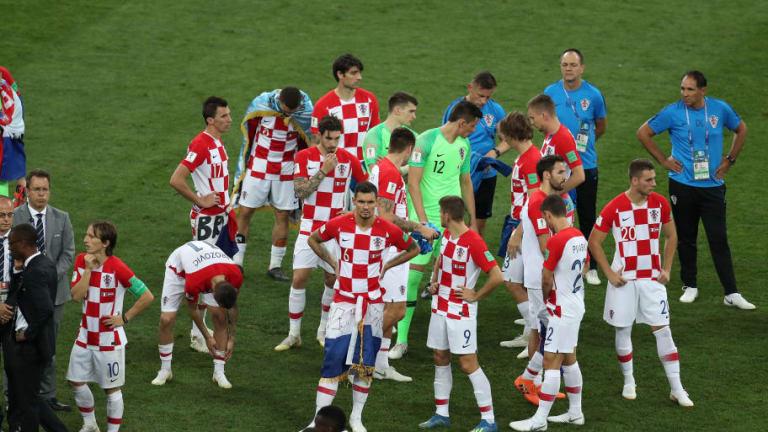 El 1x1 de la derrota de Croacia en la final ante Francia