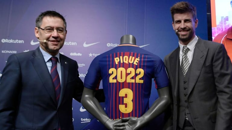 Piqué sigue echándole leña al fuego con sus provocaciones al Espanyol