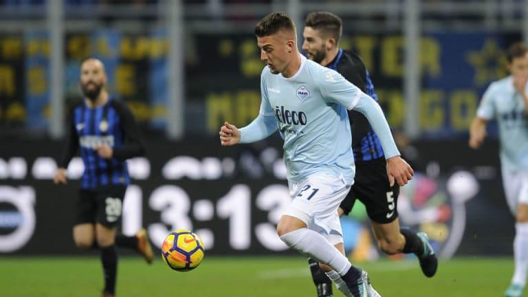 Sergej Milinkovic-Savic Remains Coy About Move to Man Utd & Insists He's Happy to Stay at Lazio