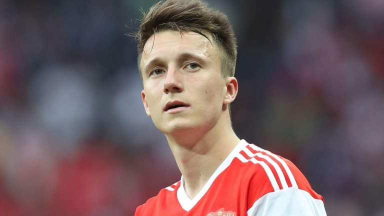 Report Claims That Juventus 'Have an Agreement' With Russian World Cup Star Aleksandr Golovin