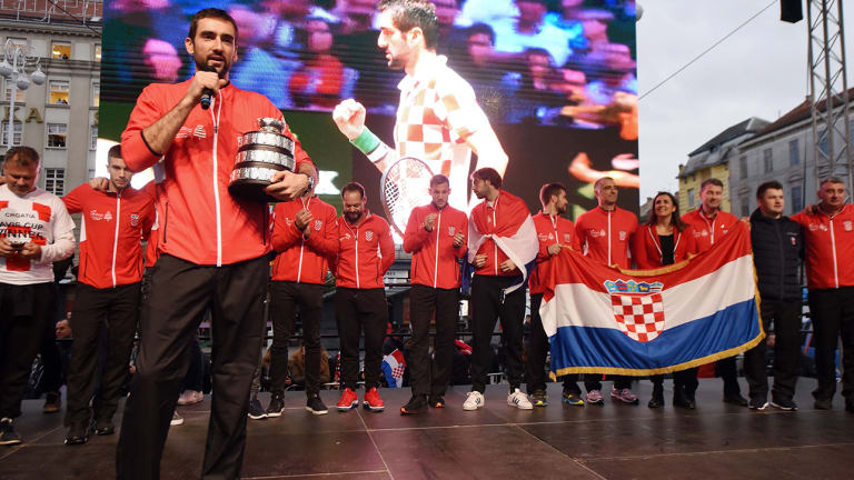 Marin Cilic Stays in Control as Croatia Wins Davis Cup Over France