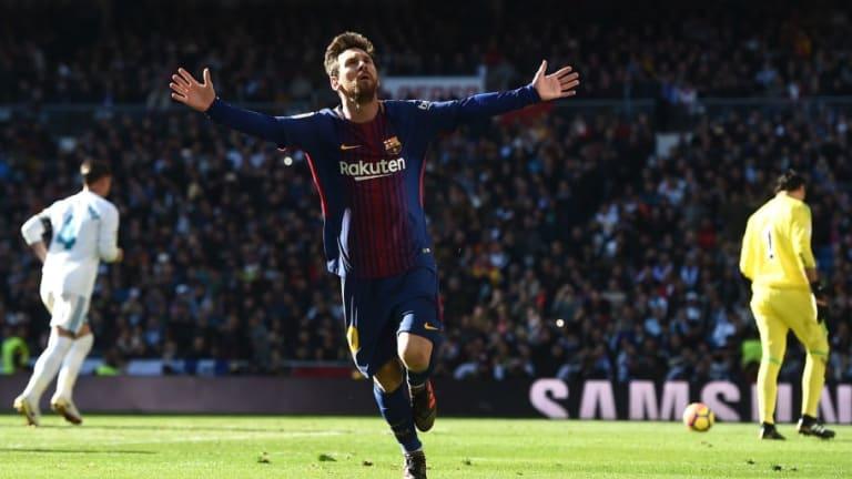 Los increíbles números de Messi ante el Real Madrid