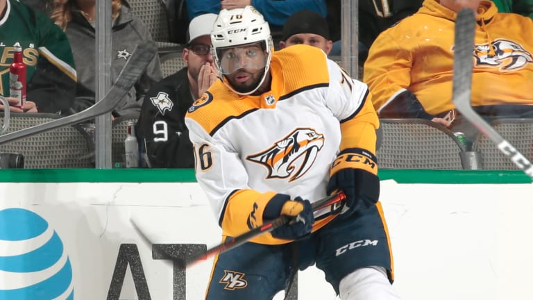 Preds Place P.K. Subban on IR,  Viktor Arvidsson Out Up to 8 Weeks