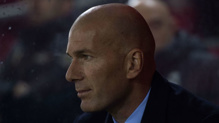 Real Madrid Boss Zinedine Zidane Claims He's Happy With Squad and Wants No New January Signings