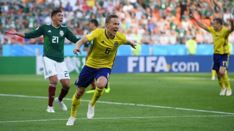 Mexico 0-3 Sweden: Defenders Strike for the Swedes to Knock Germany Out of the World Cup
